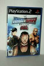 SMACKDOWN VS RAW 2008 GIOCO USATO PS2 VERSIONE ITALIANA VBC 48065