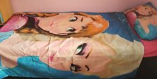 KIDS CHARACTER DUVET SET WITH FITTED SHEET (DISNEY FROZEN PRINCESS ANNA AND ELSA