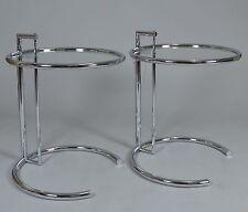 Zwei Eileen Gray Adjustable Table für Classicon NEU