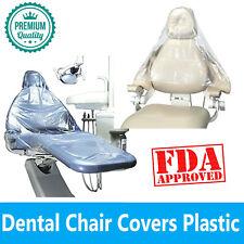 Premium Dental Full Chair Cover Chair Sleeves Or Half Sleeves Clear 125 Pcs