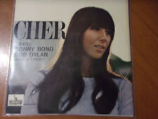 CHER Sings Sonny Bono, Bob Dylan And Others - RARE  ITA PRESS 1966 MINTY !!