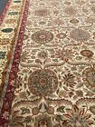 Top Quality Vintage Palace Size Rug Handmade in India, Victorian Floral, 12x25