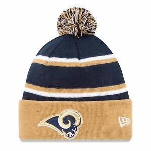 New Era Los Angeles Rams Cuff Knit Beanie Hat Cap - Navy