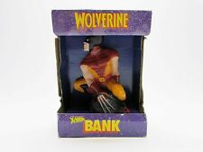 The Uncanny X-Men Wolverine Piggy Coin Bank Figure Rare Collectible VTG 1992 90s