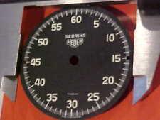 Vintage Heuer Leonidas Sebring Dash Timer Dial 46.63 MM