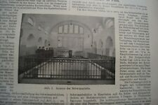 1910 Zentralblatt 68 / Schwimmhalle Kadettenhaus Plön