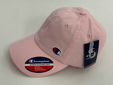 NEW! CHAMPION PINK SIGNATURE LOGO ADJUSTABLE BASEBALL CAP ONE SIZE FITS ALL