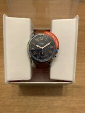FOSSIL Hybrid Smartwatch Grant Light Brown Leather RRP £149 GENUINE