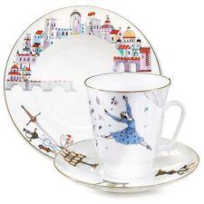 Romeo and Juliet  Ballet 3-piece. Imperial Lomonosov Russian Porcelain Gift Set