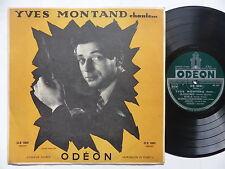 """25 cms 10"""" YVES MONTAND Chante ... os 1001 medium ( cf ref en bas devant"""