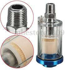1/4'' Spray Paint Gun Air Water Oil Filter Moisture Separator For Airbrush Tool