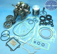 YAMAHA YZ250 CRANKSHAFT BEARINGS PISTON GASKETS SEALS ENGINE REBUILD 2001-2002