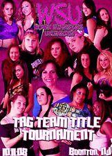 WSU Womens Wrestling - Tag Title Tournament DVD AJ Brooks Lee Mis APril WWE
