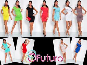 Elegant Women's Mini Dress Sleeveless Wrap Dress V Neck Tunic Size 8-12 8117