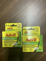 Lot of 2  Advil Allergy & Congestion Relief 2 coated tablets ea Exp: 01/2021