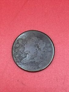 1809 Draped Bust Early US Copper Large US Cent D63