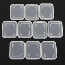5Pcs SD SDHC Memory Card Case Holder Box Storage Hard Plastic Transparent Holder