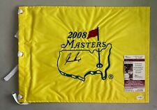 Gary Player Signed 2008 Masters Golf Pin Flag Autographed AUTO JSA COA