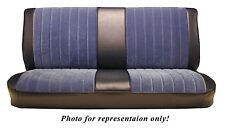 1981-87 Chevy/GMC Std Cab Front Bench Seat Upholstery, Velour, 5 Color Choices