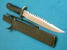 BIG VINTAGE JAPAN SPECIAL FORCES SURVIVAL II COMBAT FIGHTING BOWIE KNIFE HUNTING