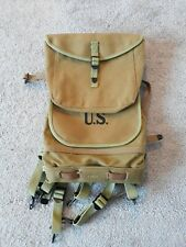 WWI US M1910 HAVERSACK COMBAT FIELD PACK Reproduction