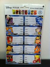 Disney Pixar - School Book Labels - 20 In Pack