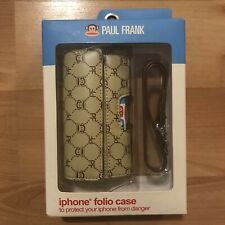 Apple iPhone 1st Generation Folio Case with Wristlet (Paul Frank, 2007) NEW!