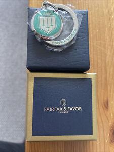 Fairfax & Favor Turquoise Key Ring