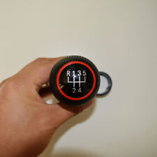 Red 5 Speed MT Gear Shift Knob Cover Boot For VW Bora Golf MK4 Jetta