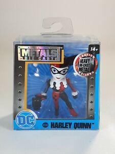 """Harley Quinn Jada Toys Metals Die Cast DC M388 2.5"""" Figure, New"""