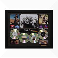 Pink Floyd Signed & Framed Memorabilia - 4CD - Black