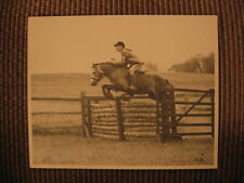 "Welsh Mountain Pony ""Miles River Diamond"" & James T. D'Arcy Jr. Orig Horse Photo"