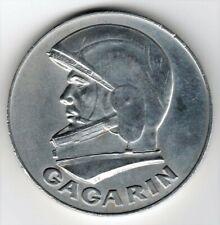 RUSSIE MEDAILLE EN TITAN YOURI GAGARIN, FIRST MAN IN SPACE, VOSTOK 1961