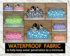 Zippy Waterproof Fabric Tulip Beanbag Footstool Bean Bag Cube Foot Stool Seat