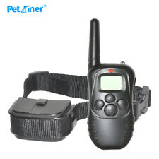 Training Dog Original Petrainer 998D-1 300m LCD Remote Electric Dog Collars pet