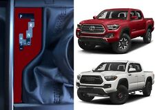 Barcelona Red Shift Indicator Vinyl Overlay For 2016-2018 Toyota Tacoma New USA