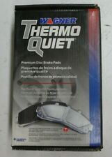 NEW WAGNER THERMO QUIET FRONT BRAKE PADS MX1076 / D1076 FITS VEHICLES ON CHART