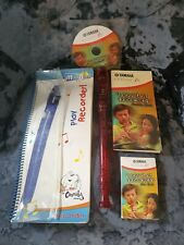 More details for yahama classic fm red recorder  recorder and instruction manuals to learn play