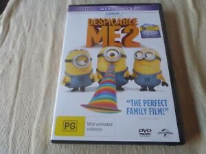 Despicable Me 2 (DVD, 2013) Region 2 & 4 & 5 Steve Carell, Kristen Wiig