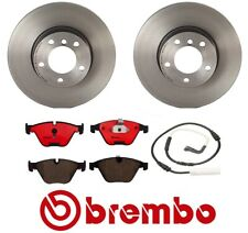 Front Disc Brake Rotors & Ceramic Pads Set Brembo for BMW 328i E91 E92 E93 E90