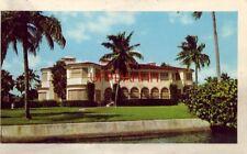 HOME OF S.S. KRESGE, CHAIN STORE MAGNATE, INDIAN CREEK, MIAMI BEACH, FL