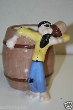 Vintage 1949 Handmade Whiskey Jug Ceramic Bar Mug HOBO Moonshine Hillbilly RARE