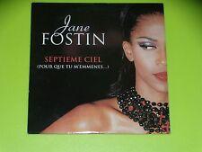 CD SINGLE - JANE FOSTIN - SEPTIEME CIEL - 1999
