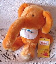 RAR Spielzeug NEU SIGIKID HIPPOFANT Kuscheltier Plüschelefant orange 30 cm groß