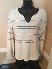 NEW w/o tags - Women's - Shirt - Sz L - by Covington - Long Sleeve - Stripes