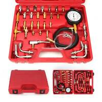 Petrol Fuel Pressure Gauge Tester Fuel Injection Pump Diagnostic Tool Kit