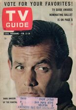 1964 TV Guide February 22 - Fugitive David Janssen; Outer Limits; Mr Green Jeans
