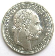 1 Forint 1892 UP (Spätere Prägung) Fiume Wappen, Franz Joseph I. (1848-1916)