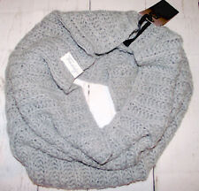FREDDY Womens Huge Wool Scarf Oversize Cowl Neck Warmer Super Chunky Knit OS £32