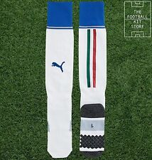 Italy Home Socks  - Official Puma Boys Football Socks - All Sizes